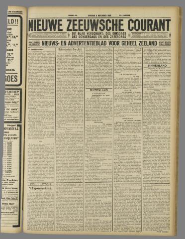 Nieuwe Zeeuwsche Courant 1926-11-09