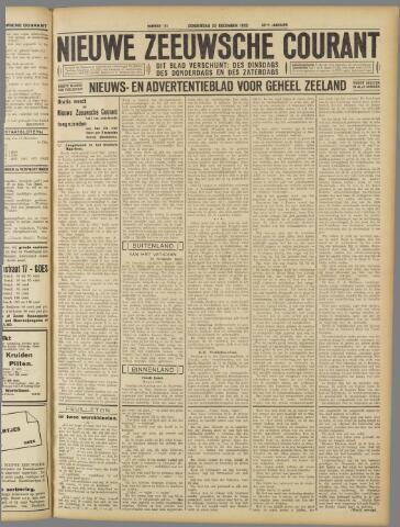 Nieuwe Zeeuwsche Courant 1932-12-22