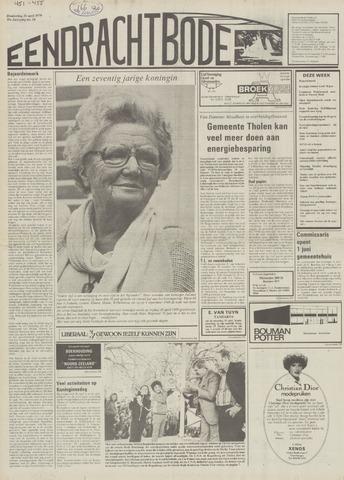 Eendrachtbode (1945-heden)/Mededeelingenblad voor het eiland Tholen (1944/45) 1979-04-26
