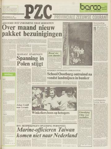 Provinciale Zeeuwse Courant 1981-01-24