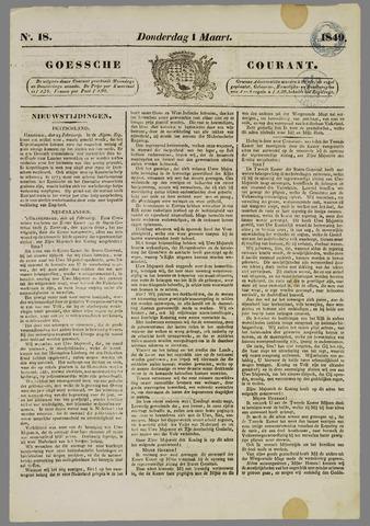 Goessche Courant 1849-03-01