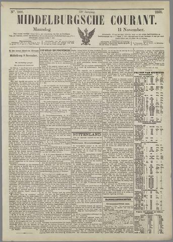 Middelburgsche Courant 1895-11-11