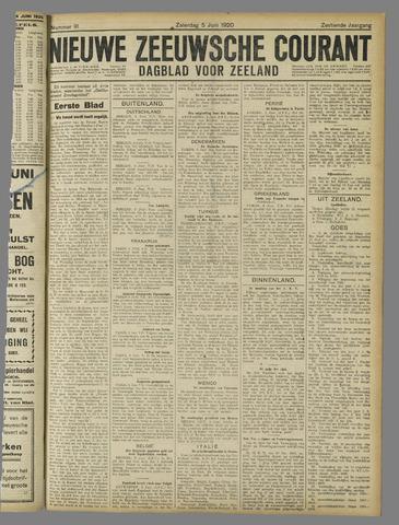 Nieuwe Zeeuwsche Courant 1920-06-05
