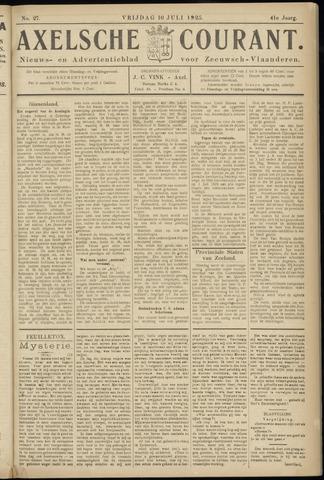 Axelsche Courant 1925-07-10