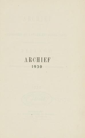 Archief 1930-01-01