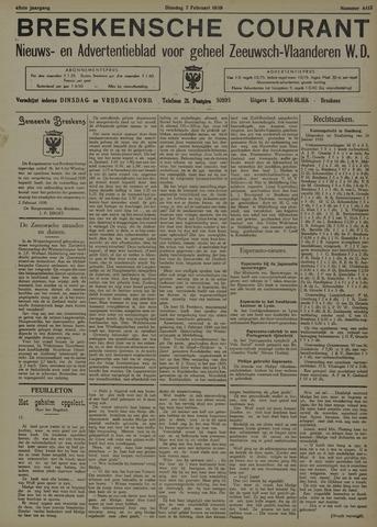 Breskensche Courant 1939-02-07