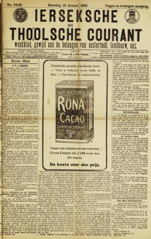 Ierseksche en Thoolsche Courant 1913-01-11
