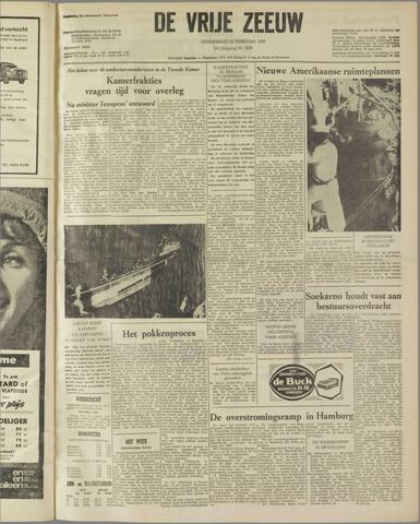 de Vrije Zeeuw 1962-02-22