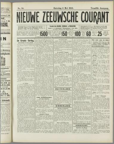 Nieuwe Zeeuwsche Courant 1916-05-06