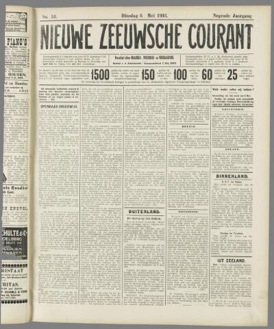 Nieuwe Zeeuwsche Courant 1913-05-06