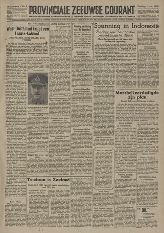 Provinciale Zeeuwse Courant 1948-01-10