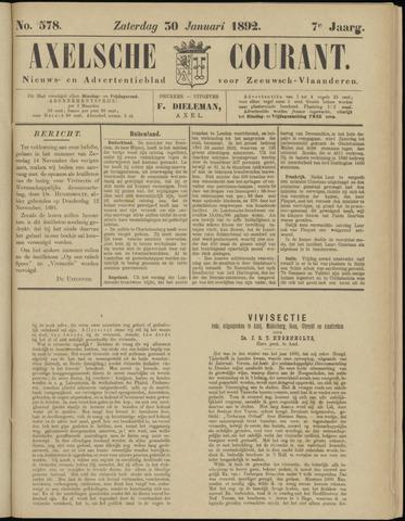 Axelsche Courant 1892-01-30