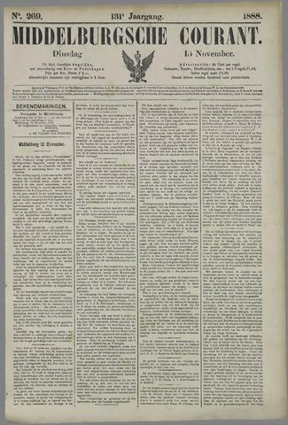 Middelburgsche Courant 1888-11-13