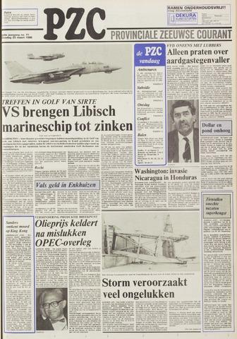 Provinciale Zeeuwse Courant 1986-03-25