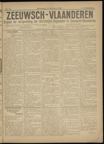 Luctor et Emergo. Antirevolutionair nieuws- en advertentieblad voor Zeeland / Zeeuwsch-Vlaanderen. Orgaan ter verspreiding van de christelijke beginselen in Zeeuwsch-Vlaanderen 1918-02-02
