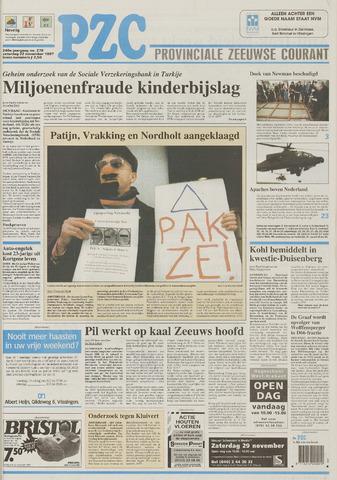 Provinciale Zeeuwse Courant 1997-11-22