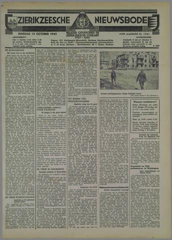 Zierikzeesche Nieuwsbode 1942-10-13