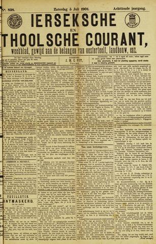 Ierseksche en Thoolsche Courant 1901-07-06