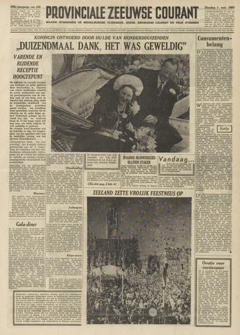 Provinciale Zeeuwse Courant 1962-05-01