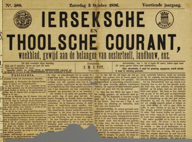 Ierseksche en Thoolsche Courant 1896-10-03