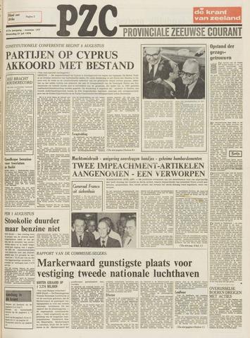 Provinciale Zeeuwse Courant 1974-07-31