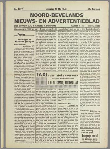 Noord-Bevelands Nieuws- en advertentieblad 1948-05-15