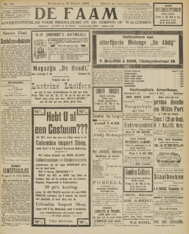 de Faam en de Faam/de Vlissinger 1923-03-21