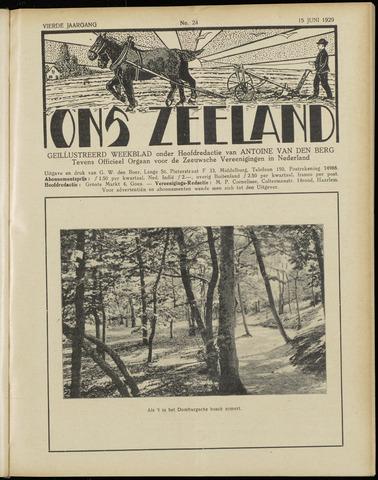 Ons Zeeland / Zeeuwsche editie 1929-06-15