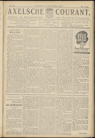 Axelsche Courant 1937-10-08