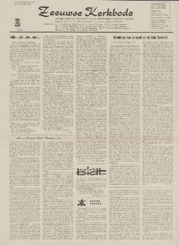 Zeeuwsche kerkbode, weekblad gewijd aan de belangen der gereformeerde kerken/ Zeeuwsch kerkblad 1962-04-20