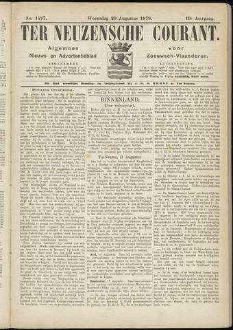Ter Neuzensche Courant. Algemeen Nieuws- en Advertentieblad voor Zeeuwsch-Vlaanderen / Neuzensche Courant ... (idem) / (Algemeen) nieuws en advertentieblad voor Zeeuwsch-Vlaanderen 1879-08-20