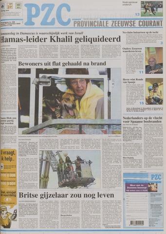 Provinciale Zeeuwse Courant 2004-09-27