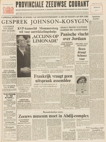Provinciale Zeeuwse Courant 1967-06-23