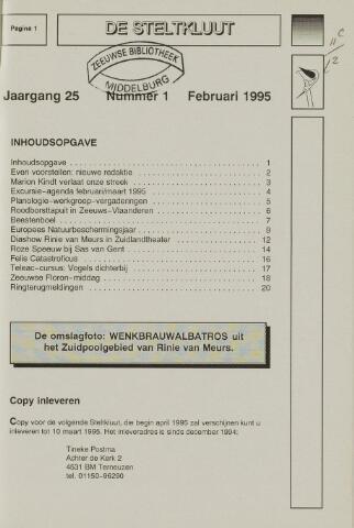 de Steltkluut 1995-02-01