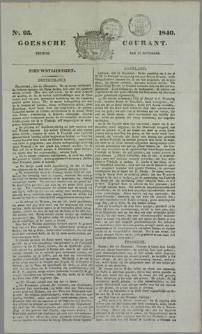 Goessche Courant 1840-11-27