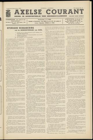 Axelsche Courant 1964-08-01