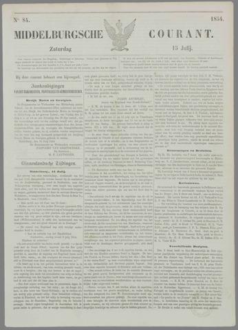 Middelburgsche Courant 1854-07-15