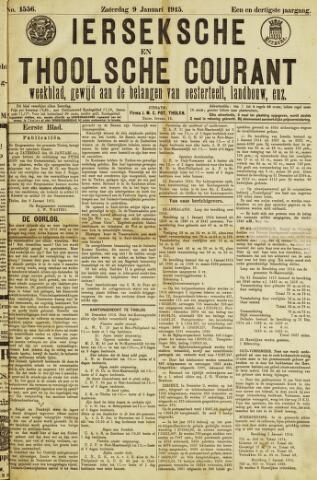Ierseksche en Thoolsche Courant 1915-01-09