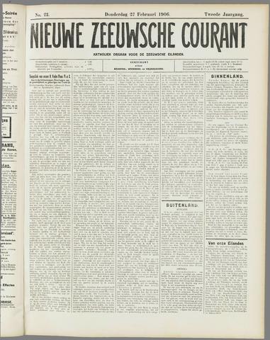 Nieuwe Zeeuwsche Courant 1906-02-22