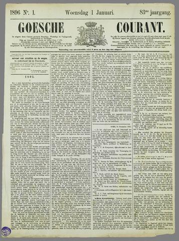 Goessche Courant 1896-01-01