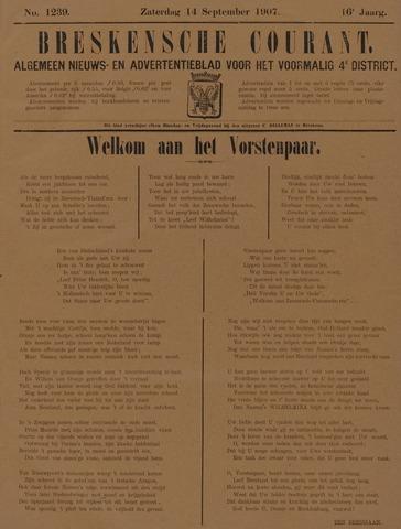 Breskensche Courant 1907-09-14