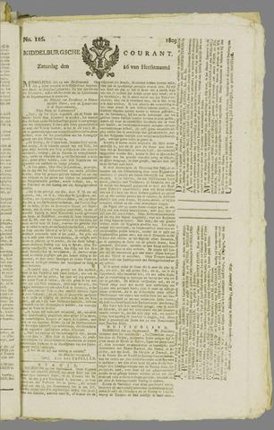Middelburgsche Courant 1809-09-16