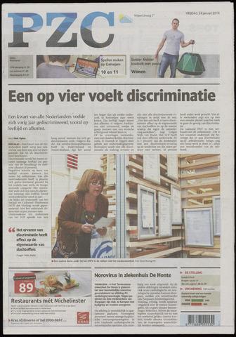 Provinciale Zeeuwse Courant 2014-01-24