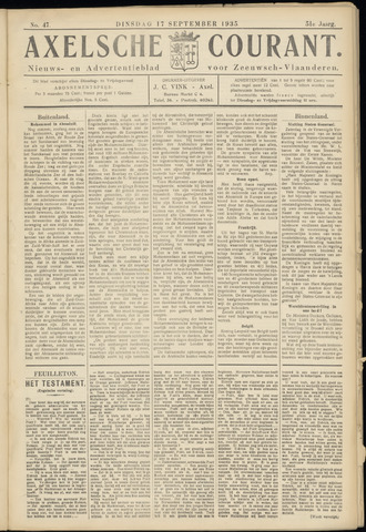 Axelsche Courant 1935-09-17