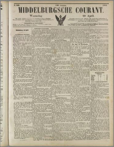 Middelburgsche Courant 1903-04-29