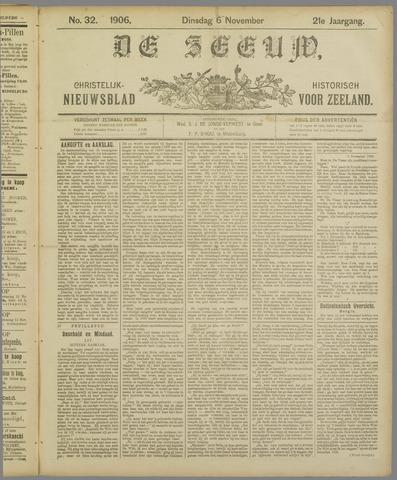 De Zeeuw. Christelijk-historisch nieuwsblad voor Zeeland 1906-11-06