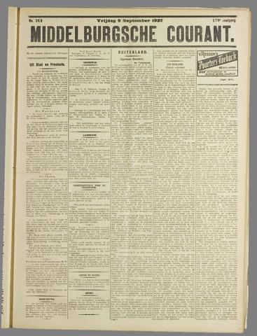 Middelburgsche Courant 1927-09-09