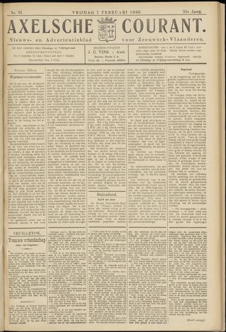 Axelsche Courant 1936-02-07
