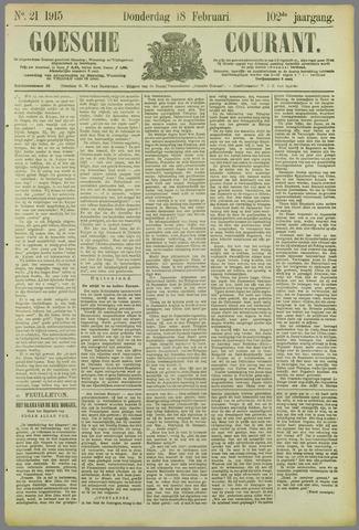 Goessche Courant 1915-02-18