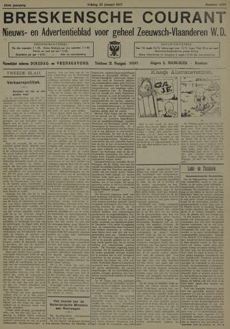 Breskensche Courant 1937-01-22